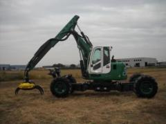 Machines and the equipment for excavations