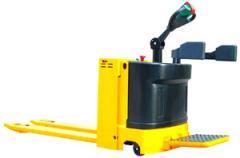 Transportador de pallets eléctrico de operador a