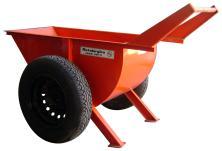 Carro Hormigonero M180N con rueda neumática.