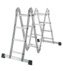 Escalera Plegable Articulada de Aluminio 16