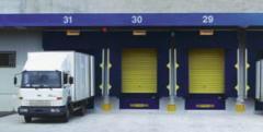 Sistemas de carga y descarga: Abrigos de carga