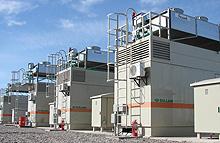 Grupos electrógenos a gas para servicio continuo