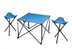 Kit aire libre de mesa y banquito