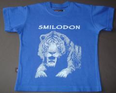 Remera smilodon azul