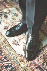 Zapato de cuero ternero