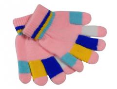 Guantes dedos magicos multicolor infantil