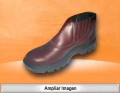 Zapato de cuero flor para caballero