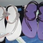 Sandalia de tira circular