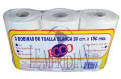 Ecco toalla en rollo blanca 20 cm x 150 mts