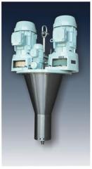 Equipment for spraying of liquid media