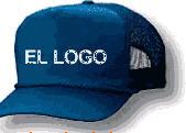 Gorras con logo bordado