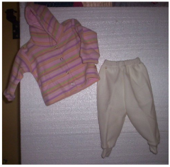 Campera y pantalón