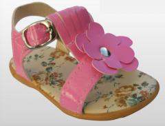 Sandalias rosa de niñas