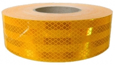Cinta 3m reflectiva amarilla gdo. diamante