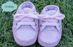 Zapatillas de corderoy con cordones