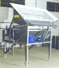 Clasificadora de fertilizantes sólidos N620
