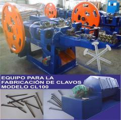 Máquina automática para la fabricación de clavos