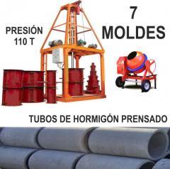 Tubos de hormigón prensado Q.T