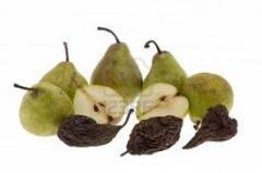 Peras secas