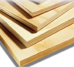Placas de madera multilaminada