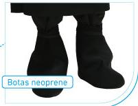 Botas de neoprene
