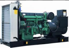 Generadores diesell de con motores Cummins o Volvo