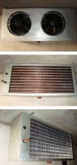 Aeroevaporador para cámaras frigorificas