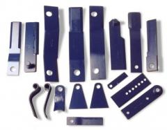 Knives for agricultural machinery