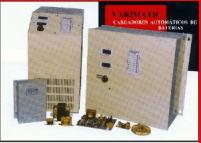 Cargadores industriales de baterias automatizados