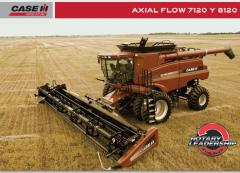 Cosechadoras Axial Flow 8120