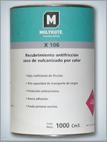 Laca lubricante  Molykote® X 106