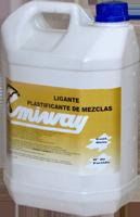 Ligante plastificante de mezclas