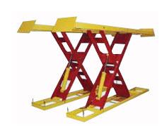 Plataforma elevador tijera