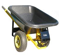 Carretilla Transporte de volumen y poco peso