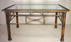 Mesa ratona con tope de vidrio Art. 612