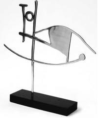 Escultura tamaño mega modelo Horus