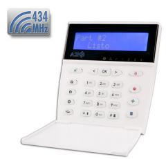 Teclado LCD para A2K8 con receptor RF