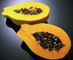 Papaya, Aplicada a la industria Alimenticia,