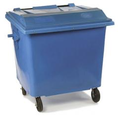 Contenedor para residuos.