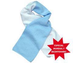 Bufanda polar especial del mundial y bicentenario