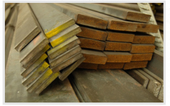 Planchuelas de barra de acero laminado