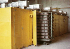 Estufas de calefacción a gas para secado y