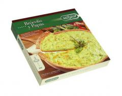 Tarta de brócoli y papas