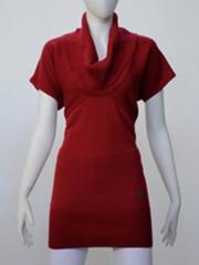Vestido de color rojo