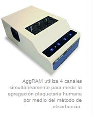 Registrador de agregación plaquetaria