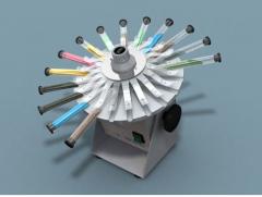 Homogeneizador y Agitador rotatorio múltiple