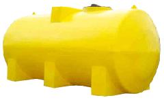 Tanque horizontal en polietileno rotomoderado |