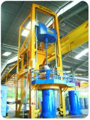 Máquina para la fabricación de caños de concreto por Proceso de Centrifugación Radial o Girocompresión Rauzi RG