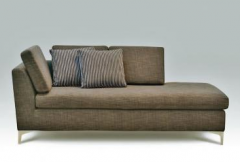 Chaise longue Praga TO patas metal