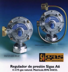 Reguladores de gas